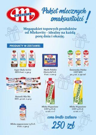 Megazestaw mlecznych smakowitości (250 zł)