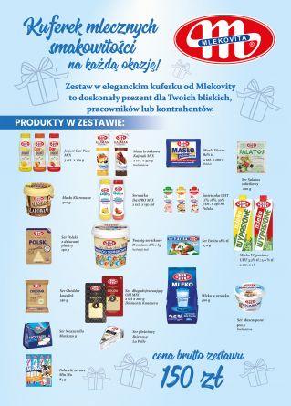 Kuferek mlecznych smakowitości (150 zł)