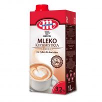 Mleko UHT Kuchmistrza, nie tylko dla baristów 3,2%. 1 L