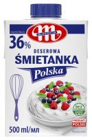 Śmietanka Polska 36% UHT 500 ml