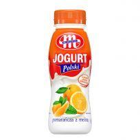 Jogurt Polski pitny pomarańcza z melisą 250 g