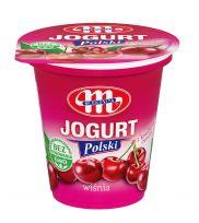 Jogurt Polski wiśniowy z kawałkami owoców 150 g