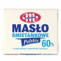 Masło Polskie Śmietankowe 60% tłuszczu 200 g