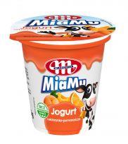 Jogurt MiaMu nektarynka - pomarańcza 125 g