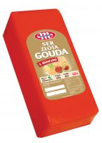 Ser Złota Gouda z dziurami blok ok. 3,2 kg