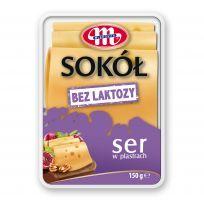 Ser Sokół bez laktozy plastry 150 g