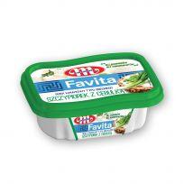 Favita serek kanapkowy - szczypiorek z cebulką - kubek 150 g