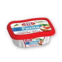 Favita serek kanapkowy - z pomidorami i bazylią - kubek 150 g