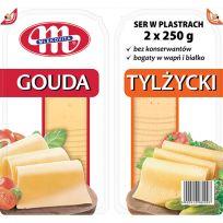 Ser Gouda + Tylżycki plastry 2 x 250 g