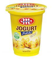 Jogurt Polski waniliowy z laską wanilii - kubek 350 g