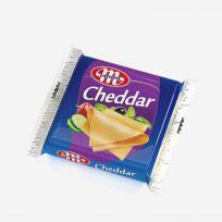 Ser topiony Cheddar w plastrach 130 g