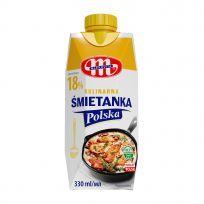 Śmietanka Polska 18% UHT 330 ml