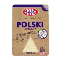 Ser Polski z dziurami plastry 150 g