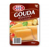 Ser Gouda wędzona plastry 150 g (otwórz-zamknij)