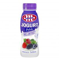 Jogurt Polski pitny bez laktozy owoce leśne 250 g