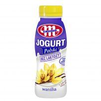 Jogurt Polski pitny bez laktozy waniliowy 250 g