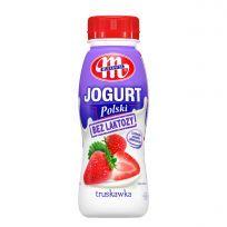 Jogurt Polski pitny bez laktozy truskawkowy 250 g