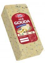 Ser Gouda z czarnuszką blok ok. 3,2 kg