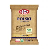 Ser Polski z dziurami 250 g