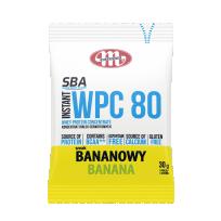 Super Body Active WPC 80 koncentrat białek serwatkowych instant bananowy 30 g