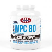 Super Body Active WPC 80 koncentrat białek serwatkowych instant czekoladowy 2270 g