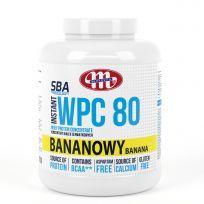 Super Body Active WPC 80 koncentrat białek serwatkowych instant bananowy 2270 g