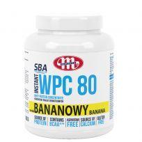 Super Body Active WPC 80 koncentrat białek serwatkowych instant bananowy 1000 g