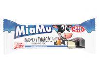 MiaMu batonik twarogowy o smaku kokosowym w polewie czekoladowej 40 g