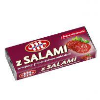 Ser topiony z salami (kostka) 100 g
