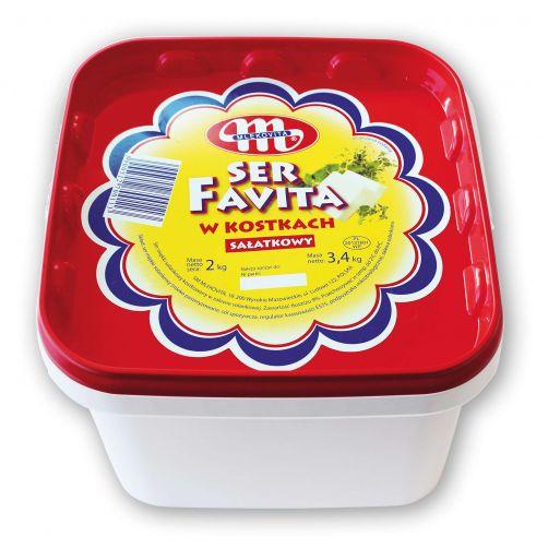 FAVITA kostkowana w zalewie 2 kg