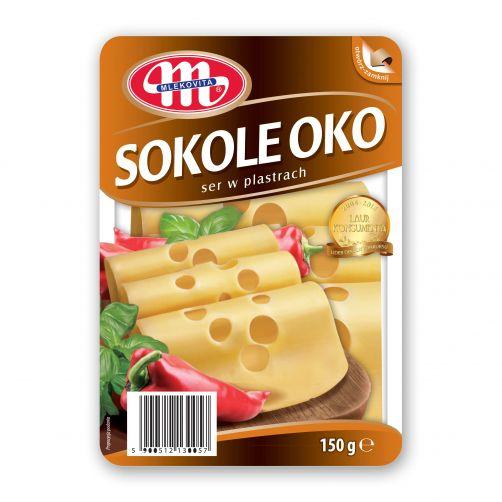 Ser Sokole Oko plastry 150 g (otwórz-zamknij)