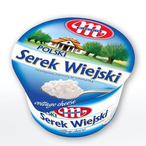 Serek WIEJSKI Polski 5% tłuszczu 200 g