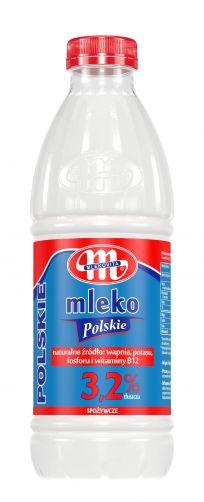 Mleko Polskie 3,2% tł. 1 l