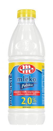 Mleko Polskie 2% tł. 1 l