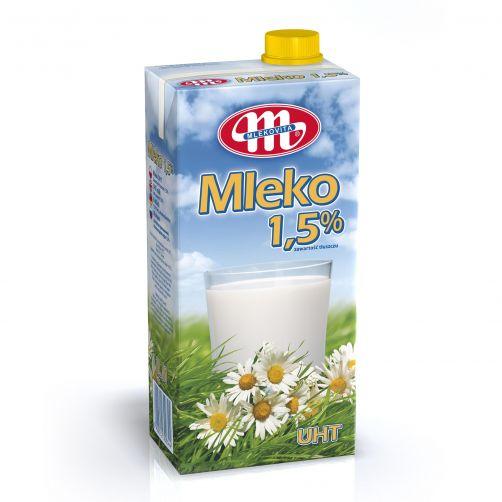 Mleko UHT 1,5% tł. z zakrętką