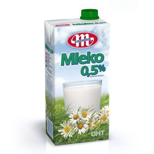Mleko UHT 0,5% tł. z zakrętką
