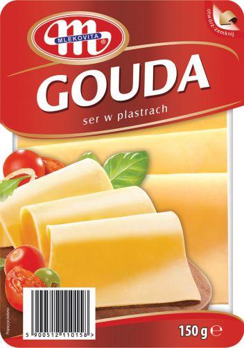 Ser Gouda plastry 150 g