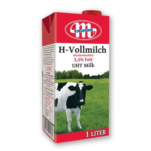 Mleko UHT 3,5% tłuszczu 1 L