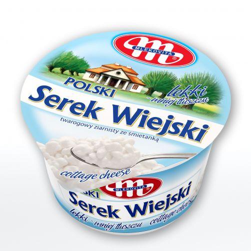 Serek WIEJSKI Polski lekki 3% tłuszczu 150 g