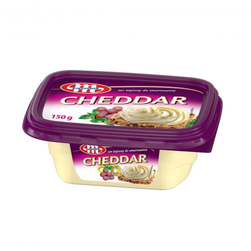 Ser topiony do smarowania Cheddar (kubek) 150 g