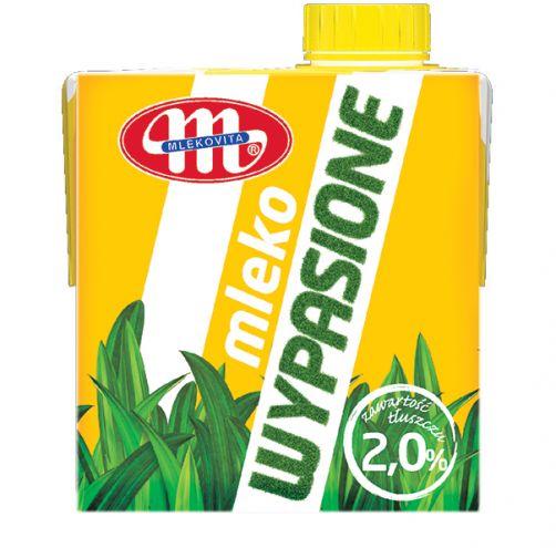 Mleko UHT 2,0% tł. WYPASIONE - 500 ml