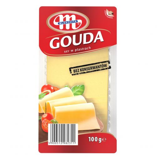 Ser Gouda plastry 100 g