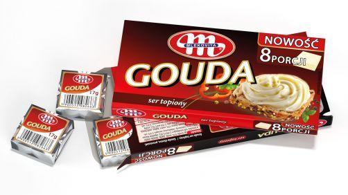 Gouda ser topiony 136 g (8 szt. x 17 g)