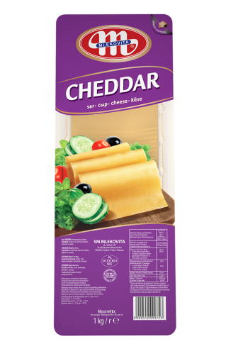 Ser Cheddar plastry 1kg