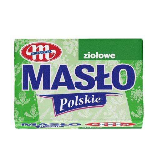 Masło Polskie ziołowe 100g