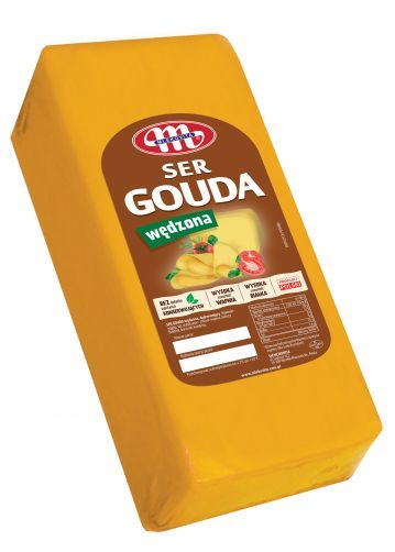 Ser Gouda wędzona ok. 3,2 kg