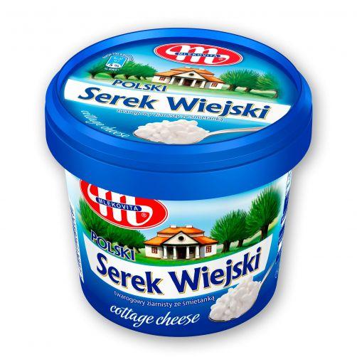 Serek WIEJSKI Polski 5% tłuszczu 500 g