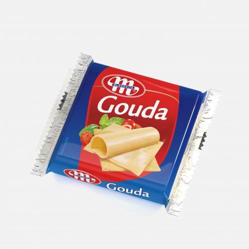 Ser topiony Gouda w plastrach 130 g