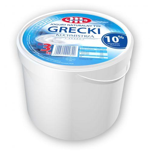 Jogurt Kuchmistrza naturalny typ grecki 3 kg