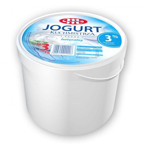 Jogurt Kuchmistrza naturalny 3 kg
